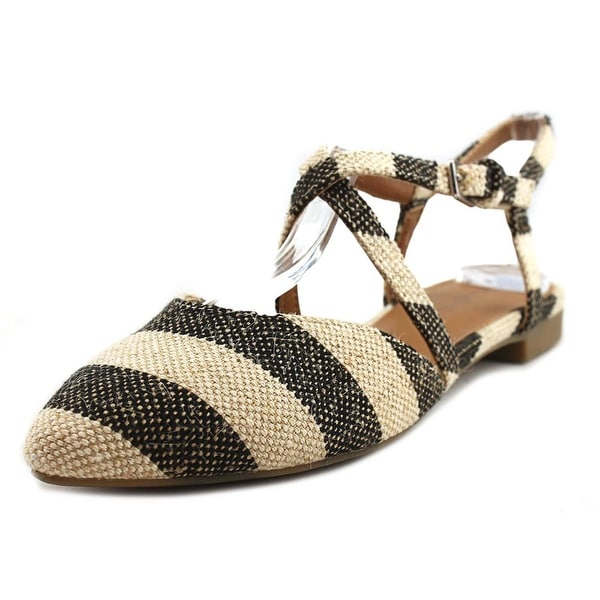 Indigo Rd. Genetic 3 Women Open Toe Canvas Brown Sandals