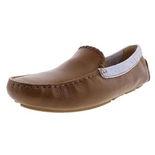 Jack Rogers Mens Barrett Leather Loafers - 8 medium (d)
