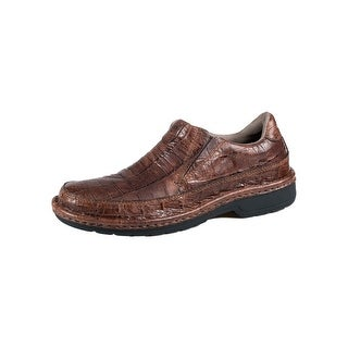 Roper Western Shoes Mens Powerhouse Croc Brown 09-020-1750-0038 BR