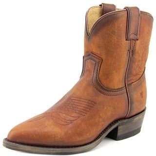 Frye BILLY SHORT B Pointed Toe Leather Western Boot
