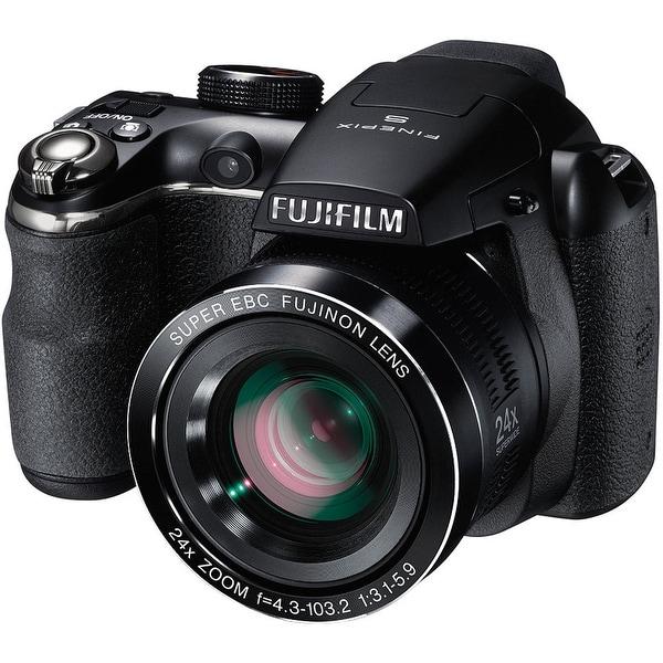 Shop Fujifilm FinePix S4200 Digital Camera (Black) (International ... 7f608ca596c02