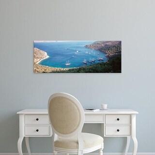 Easy Art Prints Panoramic Images's 'Kalkan Turkey' Premium Canvas Art