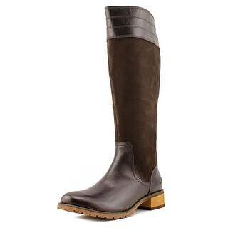 Timberland Bethel Tall Women  Round Toe Leather Brown Knee High Boot
