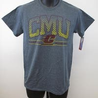 -Minor-Flaw Central Michigan Chippewas Mens Size S Small Gray Shirt