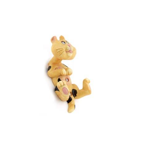 "Richelieu RH160401100 6-5/16"" Double Hook Tiger Shaped Plastic - Orange"