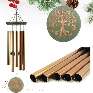 "Link to Astarin Wind Chimes Lifetree Wind Catcher,36"" with 5 Tuned Metal Tubes Similar Items in Bath"