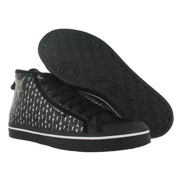 Adidas Honey Mid Womens Shoes Black/silver Size - 8.5 b(m) us