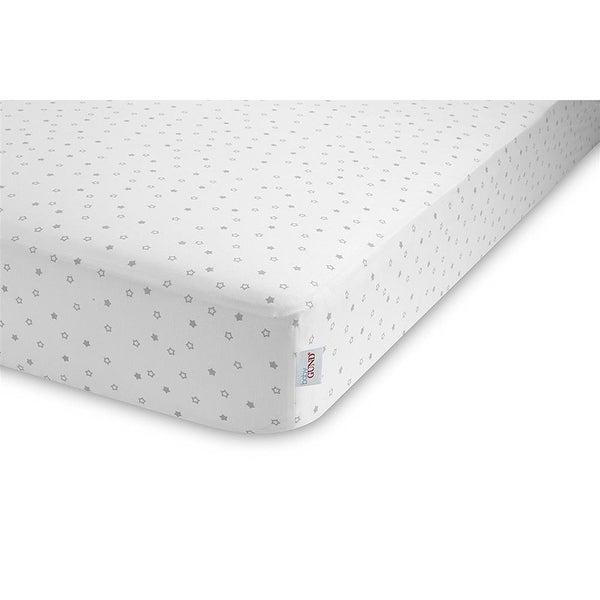 Baby Gund Deluxe Crib Sheet - White