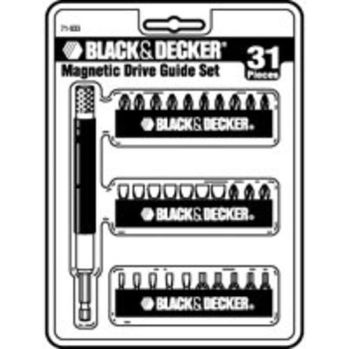 Black & Decker 71-933 Magnetic Insert Bit Set 31Pc