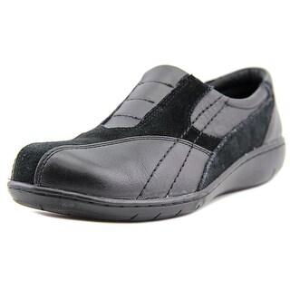 Clarks Rachel Split-toe Synthetic Loafer