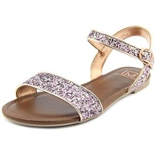 Material Girl Kim Open-Toe Synthetic Slingback Sandal