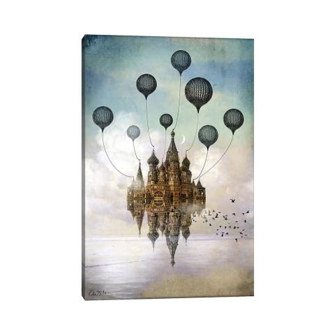 """iCanvas """"Journey To The East"""" by Catrin Welz-Stein Canvas Print"""