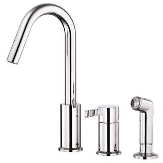Danze D409030 Kitchen Faucet - Includes Side Spray From the Amalfi Collection