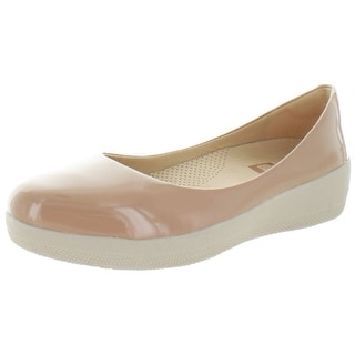 FitFlop Women's Superballerina Leather Flats Shoes
