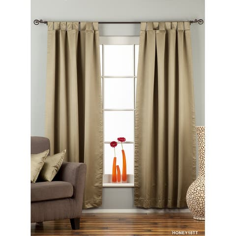 Olive Green Tab Top blackout Curtain / Drape / Panel - Piece