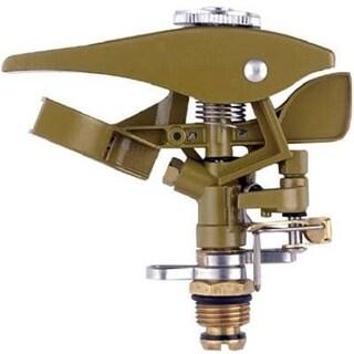 Fiskars 581795 Green Thumb Metal Impulse Sprinkler Head