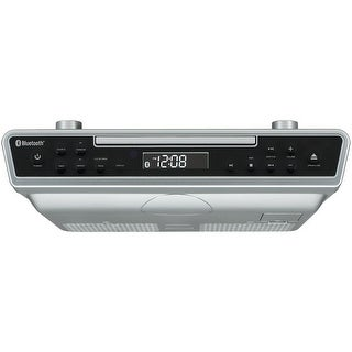 Sylvania Skcr2713 Under-Cabinet Bluetooth(R) Cd Clock Radio