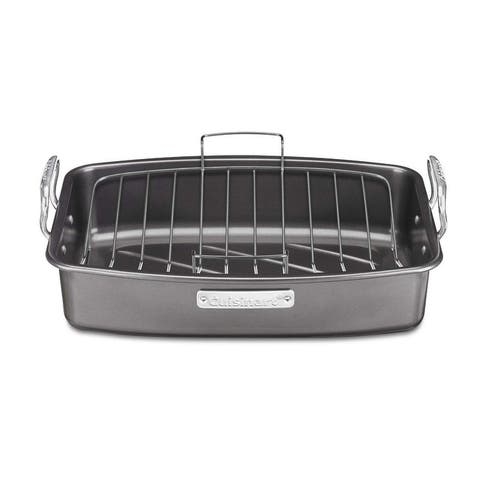 Cuisinart ASR-1713V Ovenware Classic Collection 17-by-13-Inch Non Stick Roaster, with Removable Rack