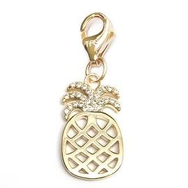 Julieta Jewelry Pineapple Clip-On Charm