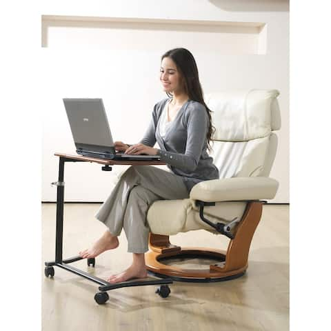 Mikelli Recliner with Work Table Set