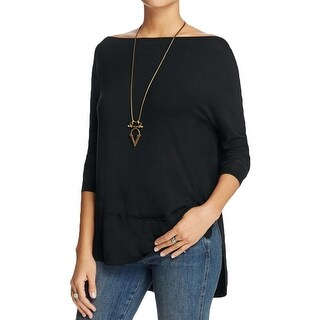 Free People Womens Luna Casual Top Off-The-Shoulder Jersey