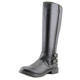 Report Haris Women  Round Toe Synthetic  Knee High Boot