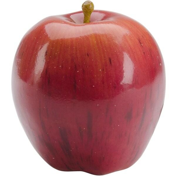 Design It Simple Decorative Fruit 1/Pkg-Red Apple - Red