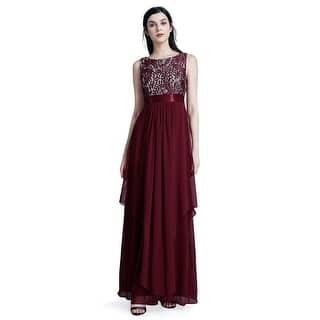acef029f2ba978 Buy Round Neck Evening   Formal Dresses Online at Overstock