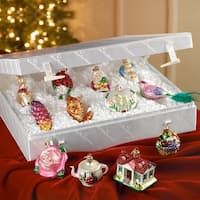 Merck Family's Old World Christmas Bride's Tree Ornament Collection