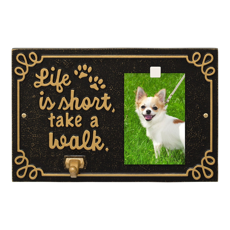 Chihuahua LEASH RACK Hat Key Hook Wall Decor Pet