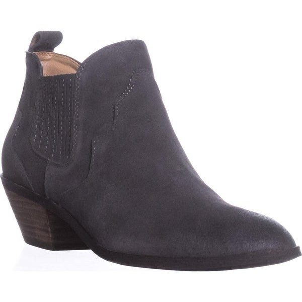 G.H. Bass & Co. Naomi Chelsea Boots, Charcoal - 9.5 us / 41.5 eu