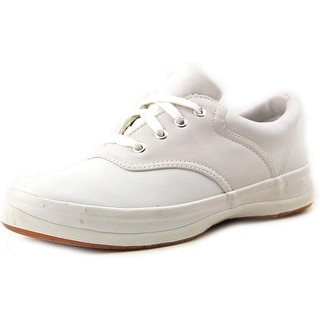 Keds School Days II Youth Round Toe Leather White Sneakers
