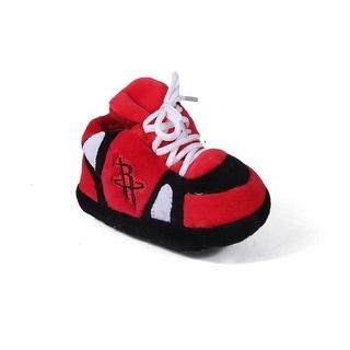 Happy Feet Mens and Womens Houston Rockets NBA Baby Slippers - Houston Rockets