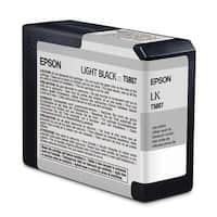Epson T580700 Ultrachrome K3 Ink, Light Black