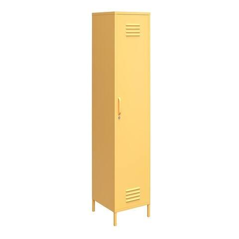 Novogratz Cache Single Metal Locker Storage Cabinet