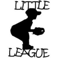 "Little League - Cardstock Laser Die-Cuts 4""X6"""