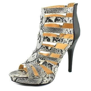 Bar III Ellie Women  Open-Toe Synthetic Black Heels