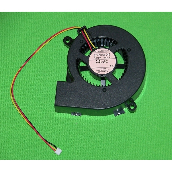 Epson Projector Intake Fan: EB-410W, EB-410WE, EMP-1810, EMP-1815, EMP-1825
