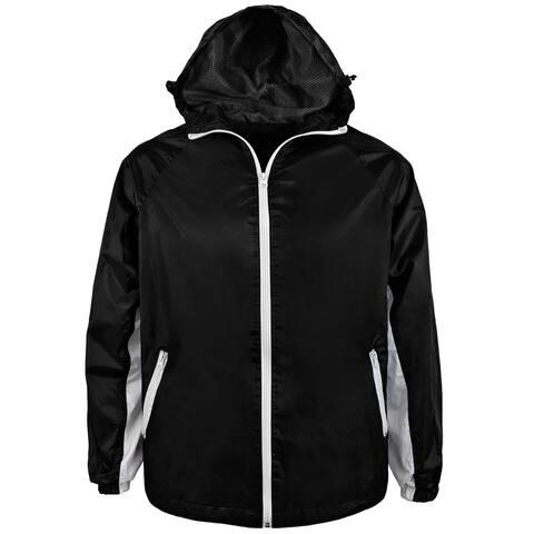 Victory Outfitters Men's Lightweight Windbreaker Rain Jacket