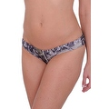 Women's Green Camo Authentic True Timber Basic Bikini BOTTOM ONLY Beach Swimwear - Thumbnail 0