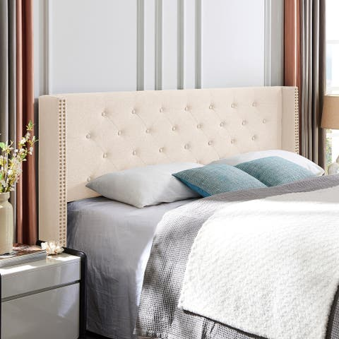 Tourmaline Upholstered King/Cal King Headboard by Christopher Knight Home