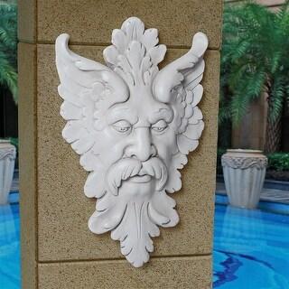 Design Toscano Michelangelo's Florentine Man, Greenman Wall Sculpture: Medium