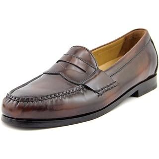 Cole Haan Pinch Grand Penny Men W Square Toe Leather Brown Loafer
