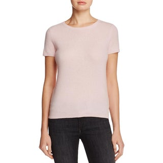 Private Label Womens Pullover Sweater Cashmere Short Sleeves