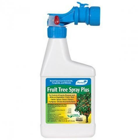 Monterey LG6186 Ready To Spray Organic Fruit Tree Spray Plus, 1 Qt