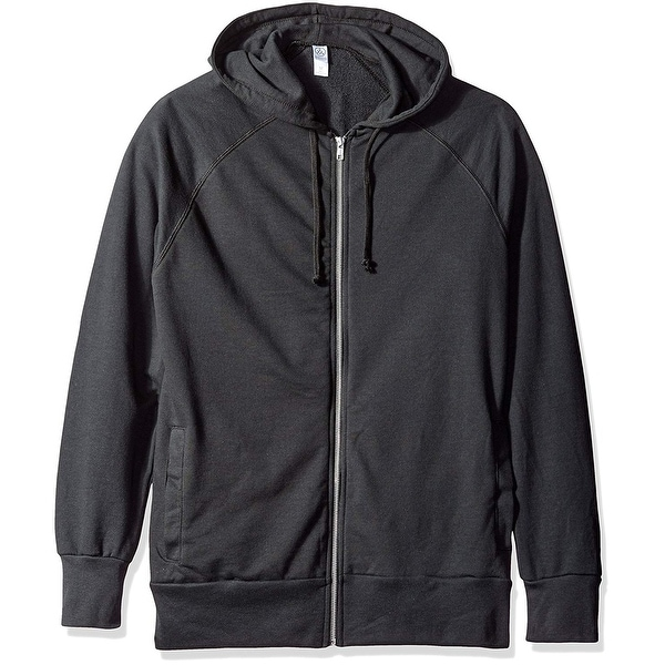 e752e59736417e Shop Alternative Mens Large Full Zip Hooded Long-Sleeve Sweater - Free  Shipping On Orders Over $45 - Overstock.com - 26921938