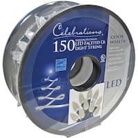 Celebrations 47867-71 C6 LED Light Reel, Cool White, 35.58'