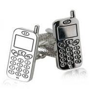 Cellphone Technology Mobile Communication  Cufflinks