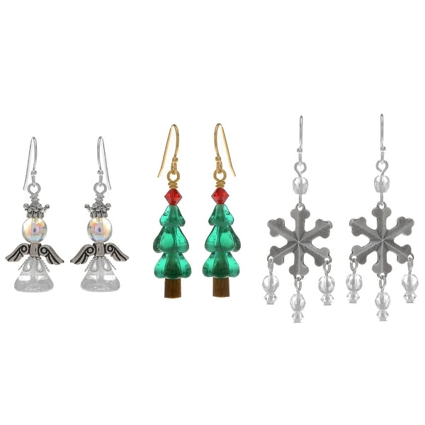 Classic Christmas Earring Set - Exclusive Beadaholique Jewelry Kit