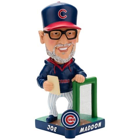 Chicago Cubs Joe Maddon Caricature Bobblehead - Multi